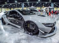 Savini Wheels Liberty Walk Widebody BMW i8 Tuning 12 190x140 Savini Wheels & Liberty Walk Widebody Kit am BMW i8