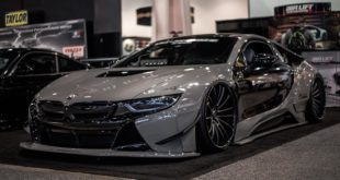 Savini Wheels Liberty Walk Widebody BMW i8 Tuning 20 310x165 Air Roc: VW T Roc mit Airride Fahrwerk & Bentley Felgen