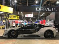 Savini Wheels Liberty Walk widebody BMW i8 Tuning 21 190x142 Savini Wheels & Liberty Walk مجموعة واسعة على BMW i8