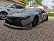 Savini Wheels Liberty Walk Widebody BMW i8 Tuning 3 190x143 Savini Wheels & Liberty Walk Widebody Kit am BMW i8
