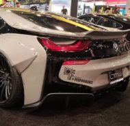 Savini Wheels Liberty Walk widebody BMW i8 Tuning 6 190x185 Savini Wheels & Liberty Walk مجموعة واسعة على BMW i8