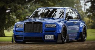 Slammed Widebody Rolls Royce Cullinan SUV Tuning 7 1 e1550654496182 310x165 Rendering: Widebody Kit on Rolls Royce Cullinan SUV