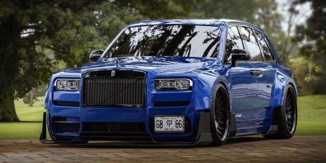 Rendering: Widebody-Kit am Rolls-Royce Cullinan SUV