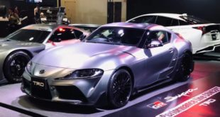 TRD Concept Toyota Supra Carbon Bodykit 2020 Tuning 8 310x165 Osaka: TRD Concept Toyota Supra mit jeder Menge Carbon