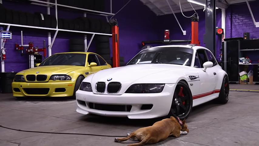 The Clown Shoe 850 Hp Bmw Z3 M Coupe Compressor