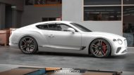 Tieferlegung Bentley Continental GT 2018 Spurplatten Tuning 1 190x107 Erster: 2018 Bentley Continental GT Gen.3 von Heasman