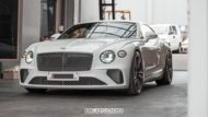Tieferlegung Bentley Continental GT 2018 Spurplatten Tuning 3 190x107 Erster: 2018 Bentley Continental GT Gen.3 von Heasman