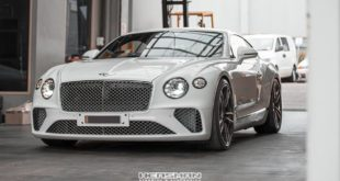 Tieferlegung Bentley Continental GT 2018 Spurplatten Tuning 3 310x165 Erster: 2018 Bentley Continental GT Gen.3 von Heasman