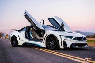 Widebody BMW i8 Energy Motorsport Race RL 51 Tuning 60 310x205 Fat Widebody BMW i8 من موالف Creative Bespoke