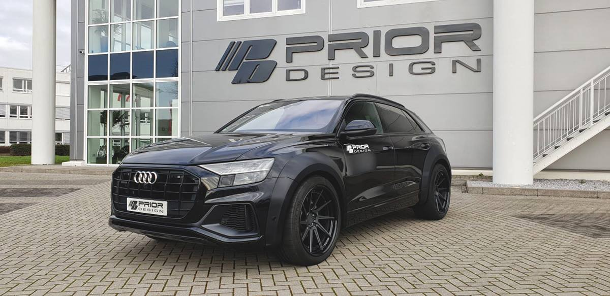 Widebody V1 Bodykit Tuning Audi Q8 Prior Design 22 Zoll 2 Widebody PDQ8XS Audi Q8 von Prior Design auf 22 Zöllern