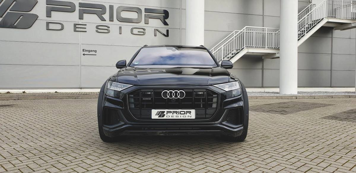 Widebody V1 Bodykit Tuning Audi Q8 Prior Design 22 Zoll 3 Widebody PDQ8XS Audi Q8 von Prior Design auf 22 Zöllern