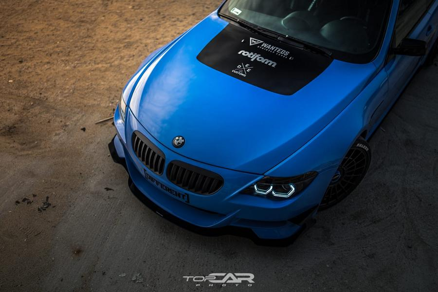 Yas Marina Blue BMW 6er E63 Rotiforms LAS R Tuning 1 Anders   Yas Marina Blue am BMW 6er (E63) auf Rotiforms