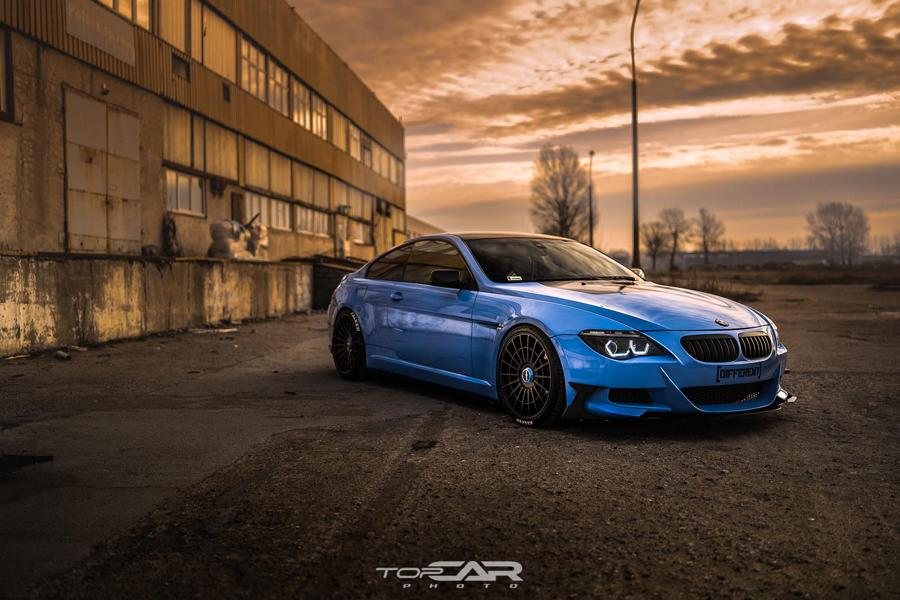 Yas Marina Blue BMW 6er E63 Rotiforms LAS R Tuning 2 Anders   Yas Marina Blue am BMW 6er (E63) auf Rotiforms