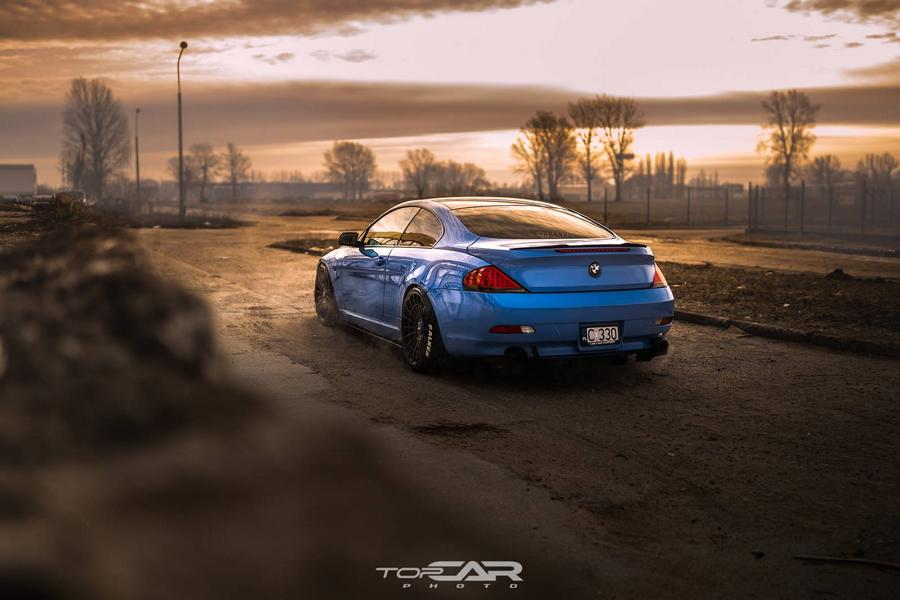 Yas Marina Blue BMW 6er E63 Rotiforms LAS R Tuning 3 Anders   Yas Marina Blue am BMW 6er (E63) auf Rotiforms
