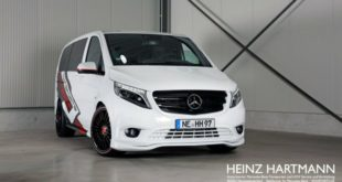 white SportsVan Mercedes Vito 119 Mixto by Hartmann W447 Tuning 2 1 e1550647853650 310x165 Vito PlanC: Widebody Mercedes Vito auf Ferrada Wheels
