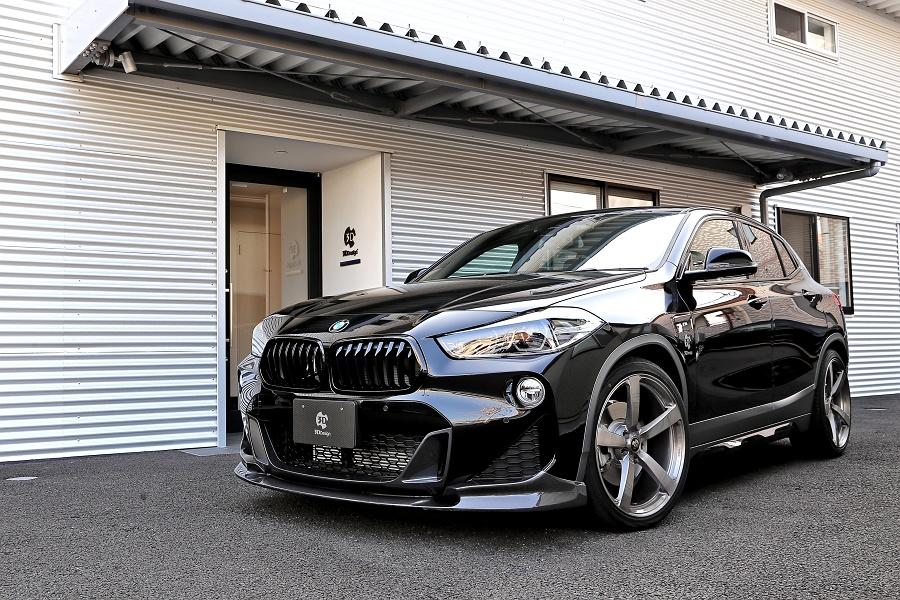 BMW X2 F39 Bodykit 3D Design Tuning 2019 13 BMW X2 (F39) SUV mit Bodykit von 3D Design aus Japan