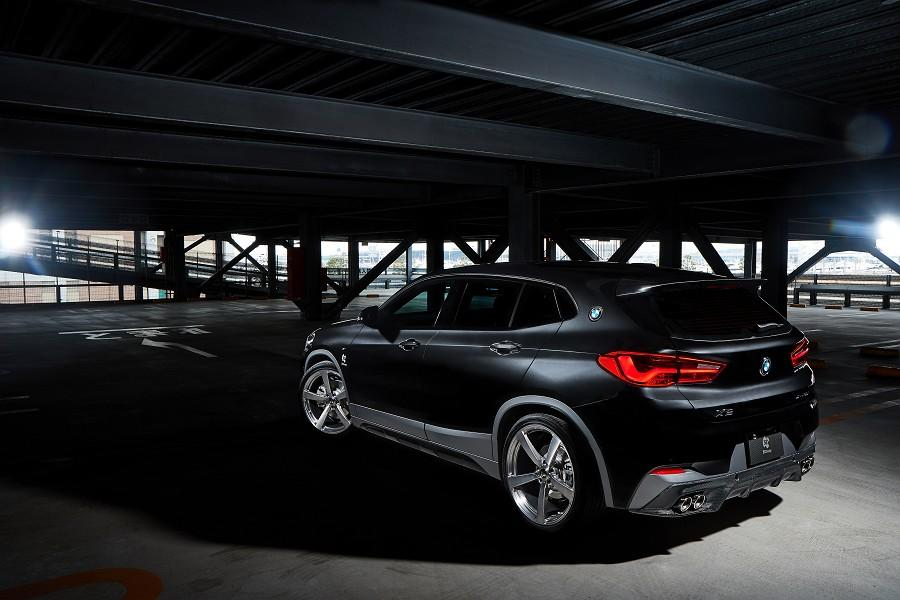 BMW X2 F39 Bodykit 3D Design Tuning 2019 19 BMW X2 (F39) SUV mit Bodykit von 3D Design aus Japan