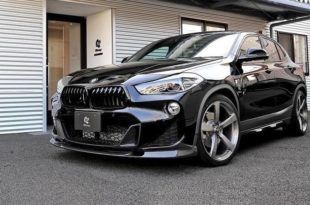 BMW X2 F39 Bodykit 3D Design Tuning 2019 22 310x205 BMW X2 (F39) SUV mit Bodykit von 3D Design aus Japan