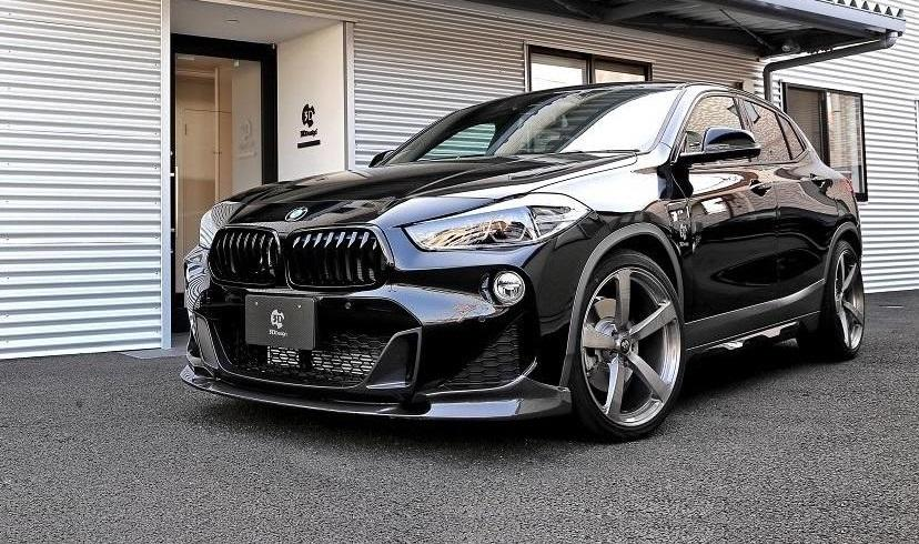BMW X2 F39 Bodykit 3D Design Tuning 2019 22 BMW X2 (F39) SUV mit Bodykit von 3D Design aus Japan