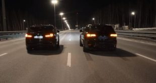 BMW X5M vs. Jeep Track Hawk 310x165 Video: Power Suv's   BMW X5M vs. Jeep Track Hawk