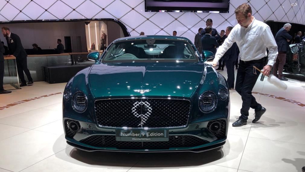 Bentley Continental GT No 9 Edition Tuning Mulliner 2019 4 2019 Bentley Continental GT No 9 Edition by Mulliner