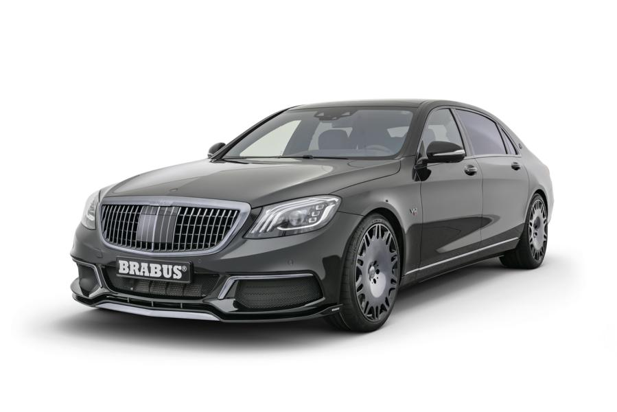 Brabus 900 2019 Mercedes Maybach S650 Tuning 1 BRABUS 900 Mercedes Maybach S 650 Luxus Supercar
