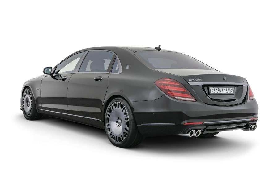 Brabus 900 2019 Mercedes Maybach S650 Tuning 2 BRABUS 900 Mercedes Maybach S 650 Luxus Supercar