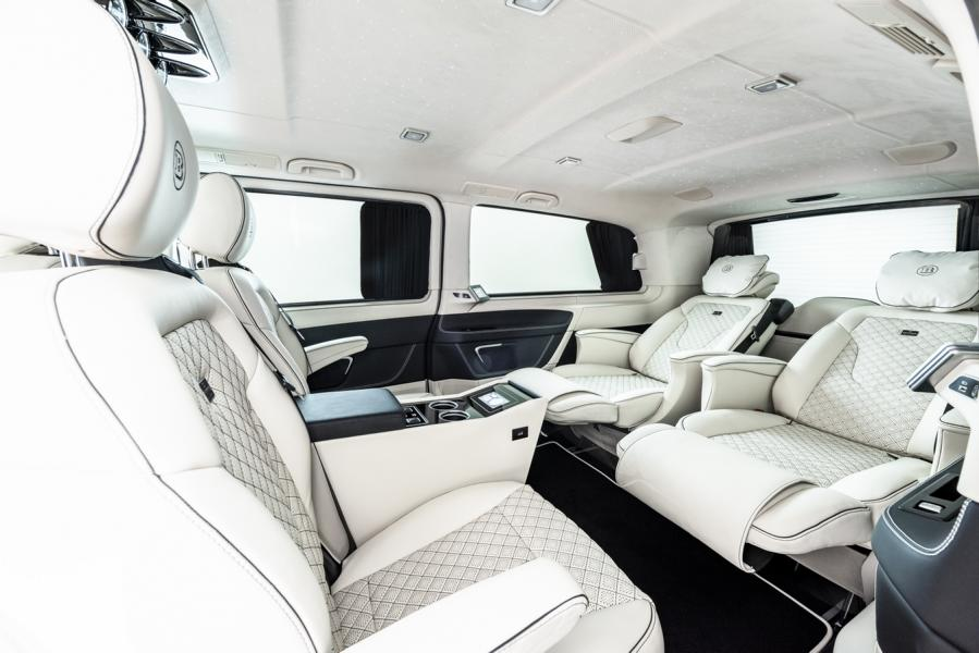 Brabus W447 Mercedes Buisness V Klasse Tuning 2019 3 BRABUS Business Plus Interieur Mercedes Benz V Klasse