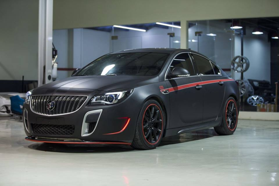Buick Regal GS China Edition Irmscher Tuning 2 Buick Regal GS China Edition mit 290 PS und Irmscher Parts