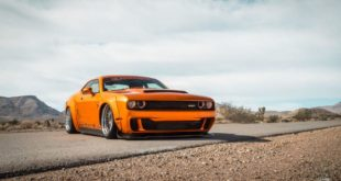 Dodge Challenger Widebody Vossen ERA 3 Airlift Tuning 10 310x165 Widebody Dodge Challenger Hellcat auf Vossen HC 3 Alus