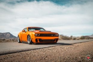 Dodge Challenger Widebody Vossen ERA 3 Airlift Tuning 10 310x205 Dodge Challenger SRT Widebody auf Vossen ERA 3 Alus