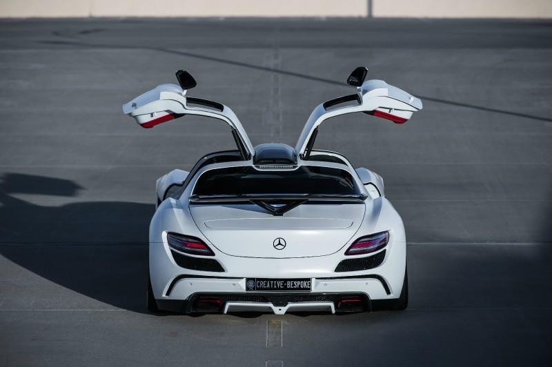FAB Design Mercedes SLS AMG Airride Fi Exhaust Tuning 54 Was sind sogenannte Gullwing Türen? Kann man sie nachrüsten?