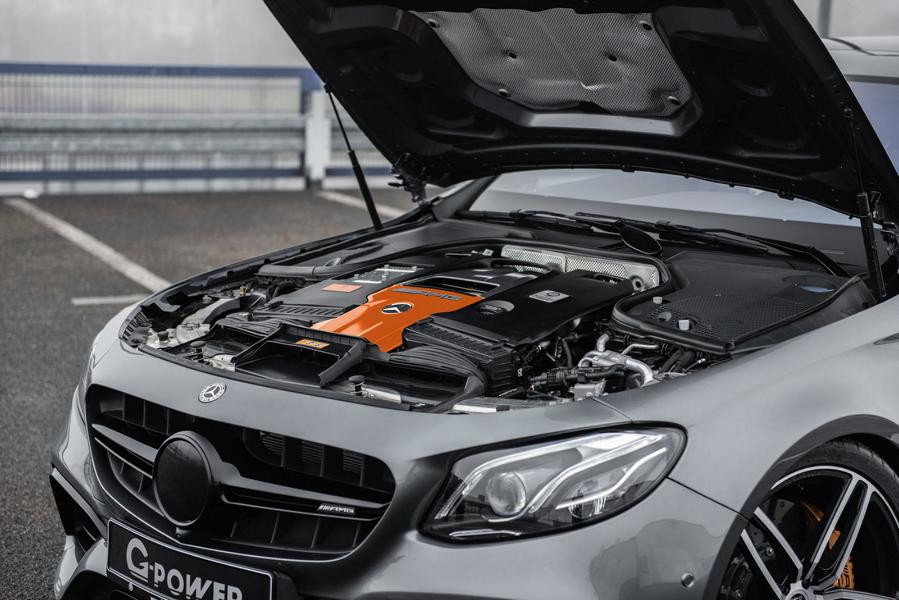 G Power Mercedes E63s AMG W213 S213 Tuning 5 Brutal: 800 PS & 1.000 NM im G Power Mercedes E63s AMG