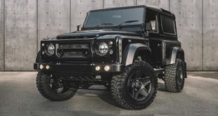 Kahn Design Land Rover Defender D90 Vanguard edition Tuning 2019 2 1 310x165 Land Rover Defender Reisemobil von Matzker KFZ Technik
