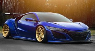 Liberty Walk Widebody Acura NSX AG Luxury Wheels Tuning 310x165 Liberty Walk Widebody Acura NSX auf AG Luxury Wheels