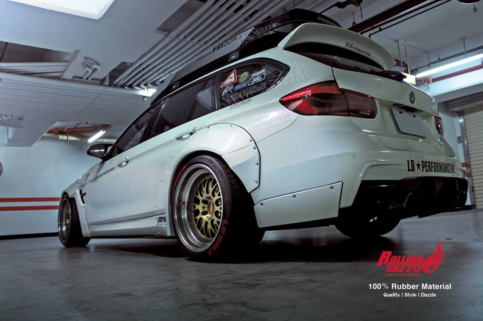 Liberty Walk Widebody BMW 3er F31 Tuning Airride 5 Widebody Kits von LibertyWalk   japanischer Tuning Trend