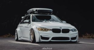 Liberty Walk Widebody BMW 3er F31 Tuning Airride 8 310x165 LB Silhouette WORKS GT Nissan 35GT RR Widebody Kit
