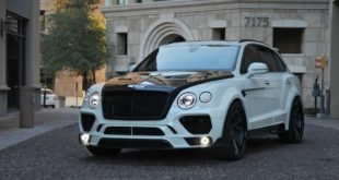 Mansory Widebody Bentley Bentayga W12 Rennen R52 X Tuning 310x165 Voller Angriff: 2019 Bentley Continental GT Pikes Peak