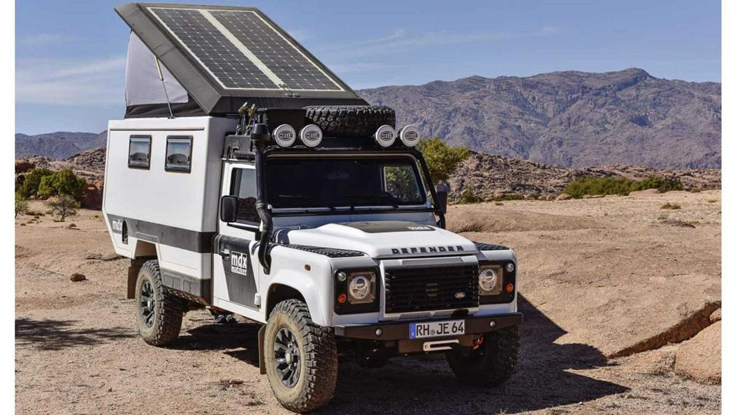 Matzker MDX 360 Grad Expeditionsmobil Land Rover Defender Tuning 13 Land Rover Defender Reisemobil von Matzker KFZ Technik