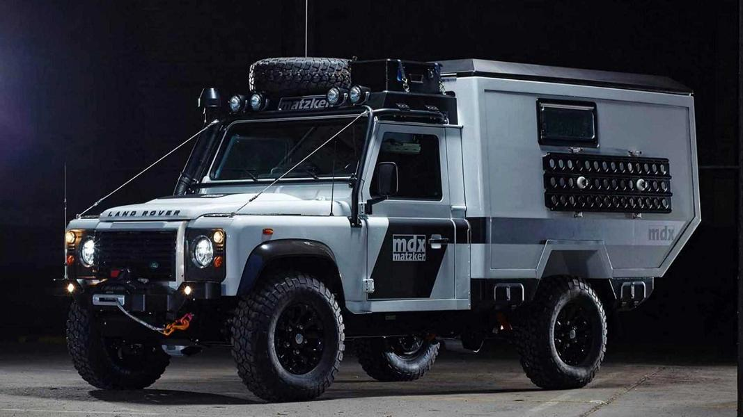 Matzker MDX 360 Grad Expeditionsmobil Land Rover Defender Tuning 18 Land Rover Defender Reisemobil von Matzker KFZ Technik