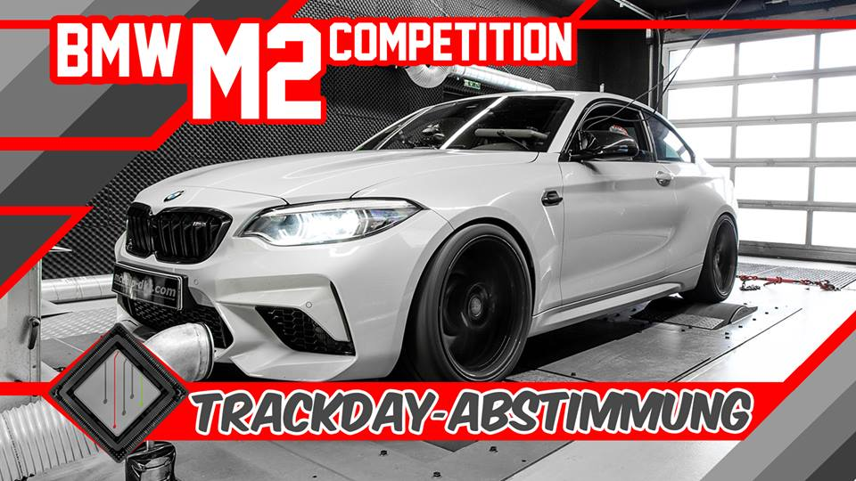 Mcchip dkr Stage 3 BMW M2 F87 Competition 600 PS im Mcchip dkr Stage 3 BMW M2 (F87) Competition