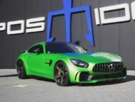 POSAIDON GT RS 830 Mercedes Benz AMG GT R Tuning 2019 3 190x144 POSAIDON GT RS 830+ Mercedes Benz AMG GT R mit 900 PS