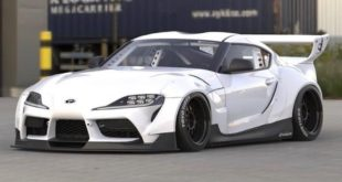 Pandem Toyota Supra A90 Widebody kit 2 1 310x165 Vorschau: Pandem Toyota Supra (A90) Widebody kit