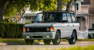 Range Rover Classic TWR Edition Tuning E.C.D. Automotive 4 310x165 Military style: Land Rover Defender 110 von ECD Automotive