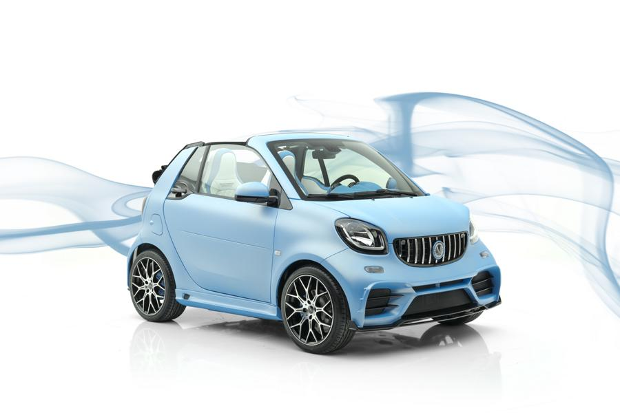Smart Fortwo Fortwo Cabrio Tuning Mansory 2019 1 Smart Fortwo und Fortwo Cabrio vom Tuner Mansory