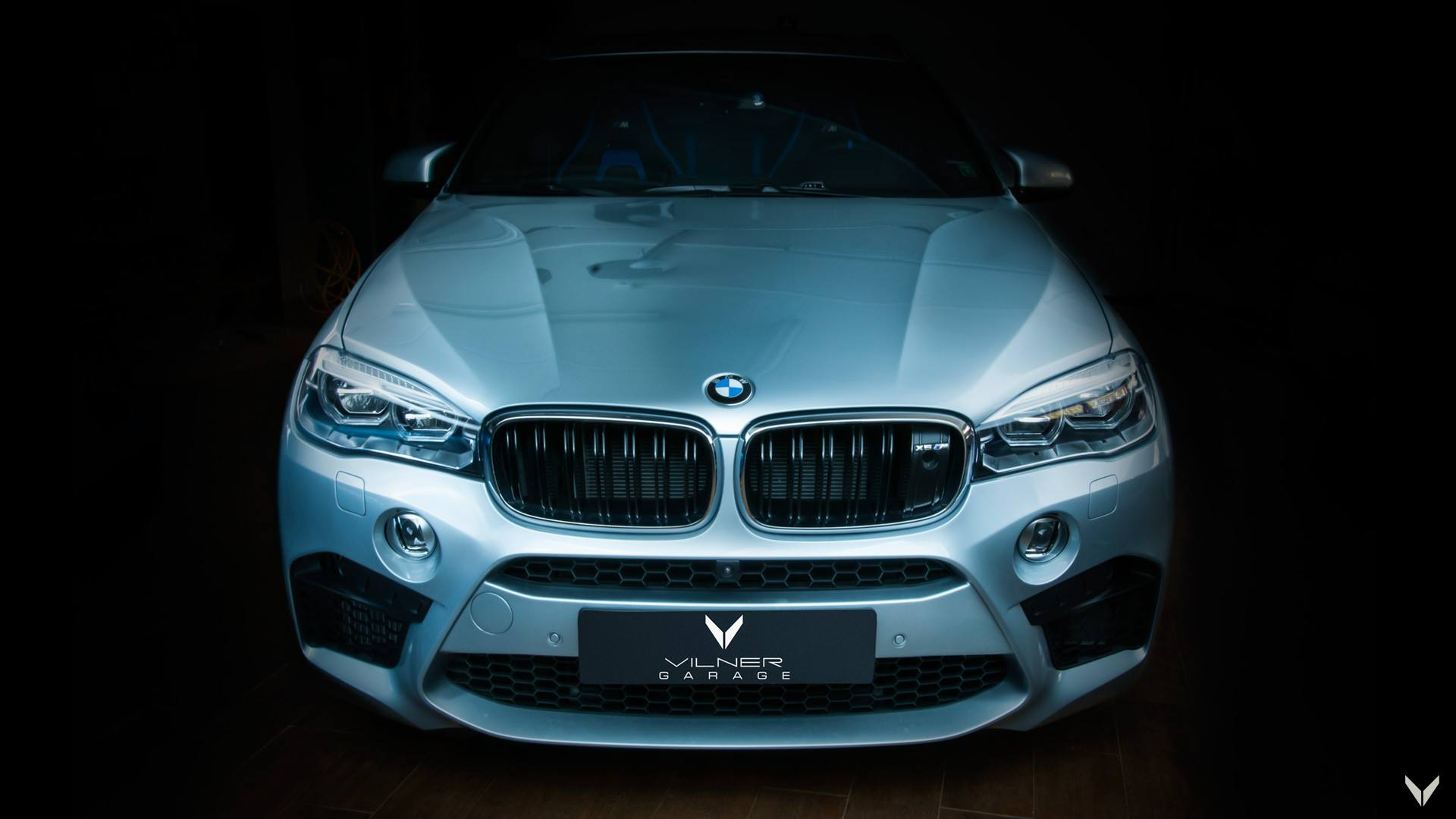 Vilner Bmw X6 M F86 With Luxury Interior In Blue Black