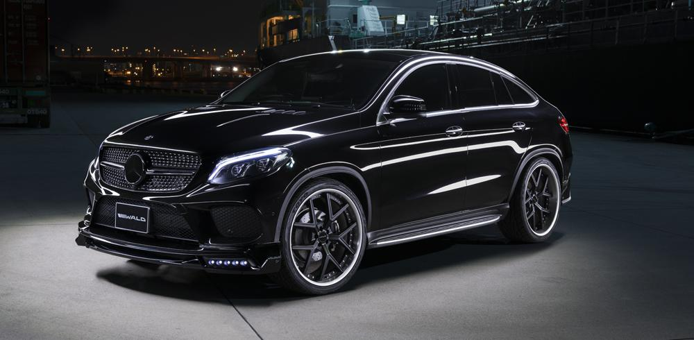 Wald Bodykit 24 Zoll C292 Mercedes GLE SUV Coupe Tuning 7 Wald Bodykit & 24 Zöller am Mercedes GLE SUV Coupe