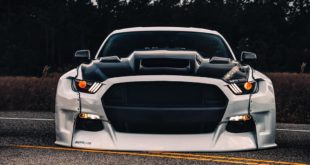 Widebody Ford Mustang GT clinched savini Airride 1 310x165 Air Roc: VW T Roc mit Airride Fahrwerk & Bentley Felgen