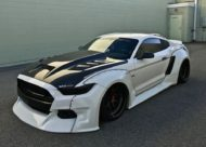 Widebody Ford Mustang GT clinched savini Airride 8 190x136 Black & White   Widebody Ford Mustang GT mit Airride