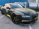 Audi A7 Performance Folierung camouflage Tuning 23 155x116 Neuer Look 2019   Audi A7 Performance von BB Folien